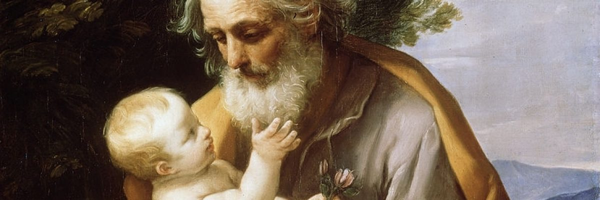 'Saint Joseph with Infant Christ', 1620s. Found in the collection of the State Hermitage, St Petersburg. (Photo by Fine Art Images/Heritage Images/Getty Images)