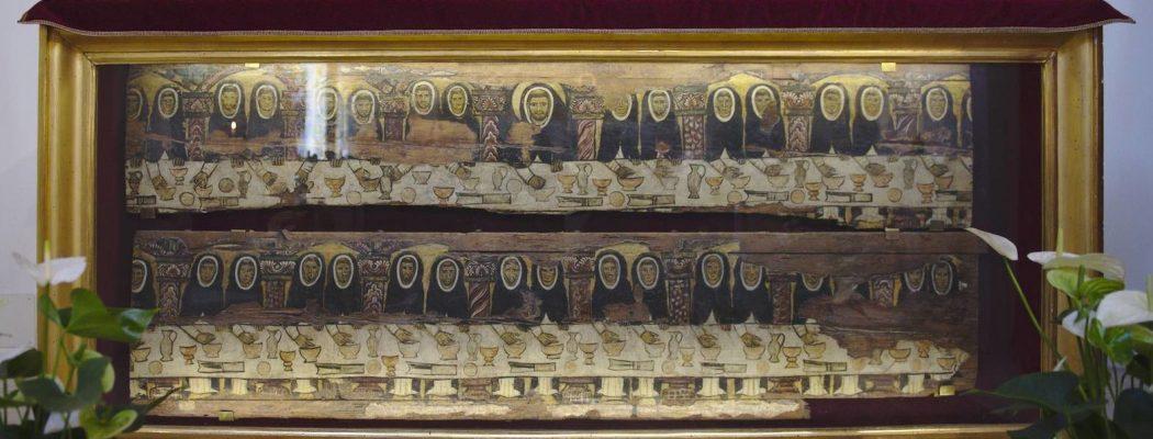 la tabla de Mascarella santo domingo